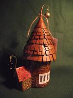 Fairy House Pixie Cottage Elf Gaff Fae Folk Hovel by Kuriologist