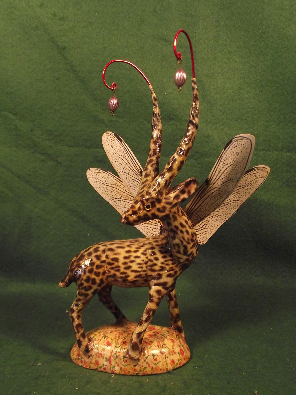 Upcycled Fairy Antelope Deer by Kuriologist