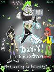 Danny Phantom Mini Poster