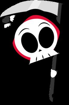 Chibi-fied Grim Reaper