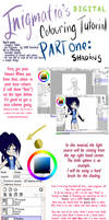 Easy Colouring Tutorial - Pg 1