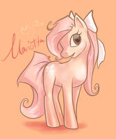 My Little Pony FC - Mariotta by enigmatia