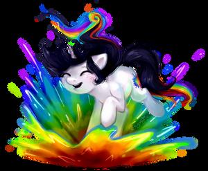 Pony Commission: Colour Splash