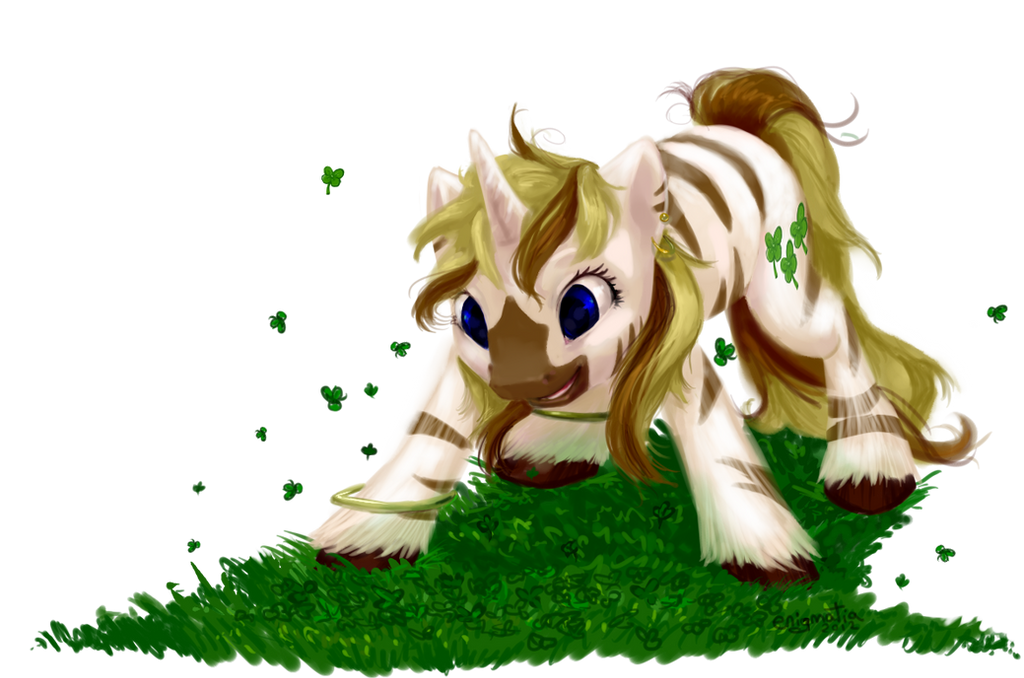 Pony Commission: Lucky Stripes by enigmatia