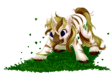 Pony Commission: Lucky Stripes