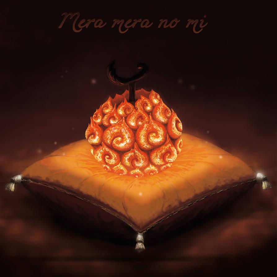 One piece - mera mera no mi by Sbapstien