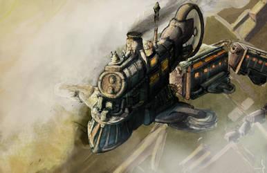 Trainplane3flfff by stephenglagow