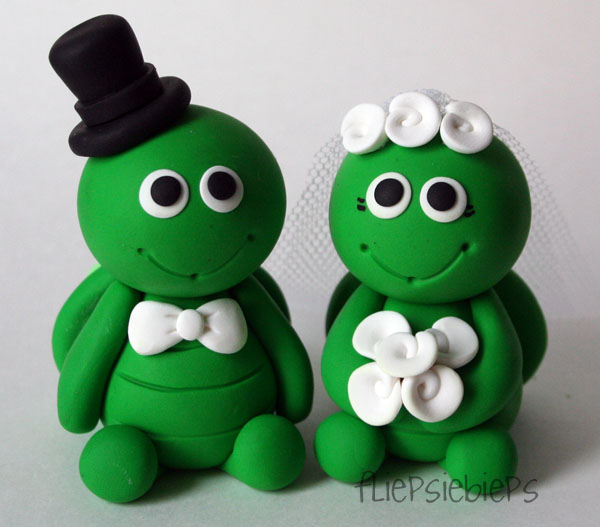 turtle wedding cake toppers turtle wedding cake topper by fliepsiebieps on deviantart 21320