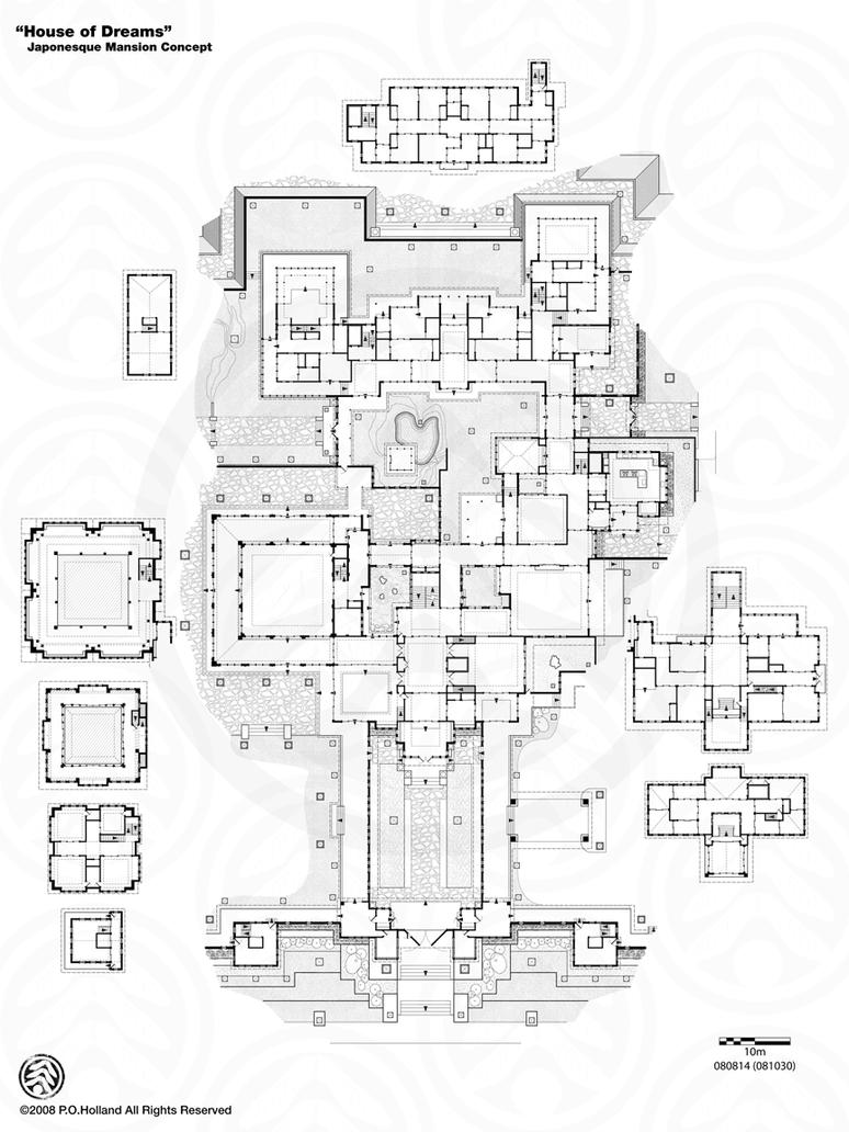 Lynnewood Hall Floor Plan