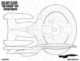 GALAXY Class Refit Concept 1 by Phaeton99