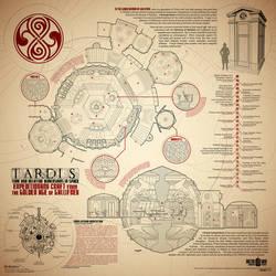 Golden Age TARDIS Poster by Phaeton99