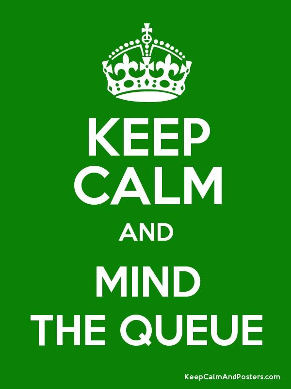 Mind the Queue by Phaeton99