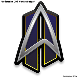 Fleet Badge - Federation Civil War Era by Phaeton99