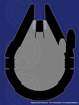 Millennium Falcon Refactored - Size Comparison