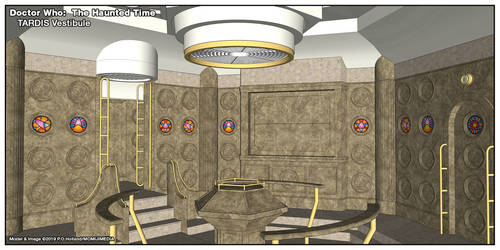 Doctor Who: The Haunted Time - Console Room 2