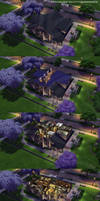 The Sims 4 - Arts and Crafts Haven: Cutaway