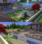 Sims 4 - Momijihouse - Garden