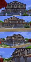 Sims 4 - Momijihouse - Exterior