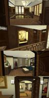 Sims 4 - Momijihouse - Upstairs