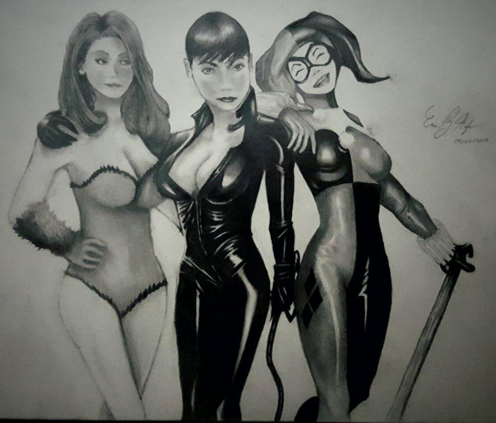 Gotham City Sirens by DamienRayith