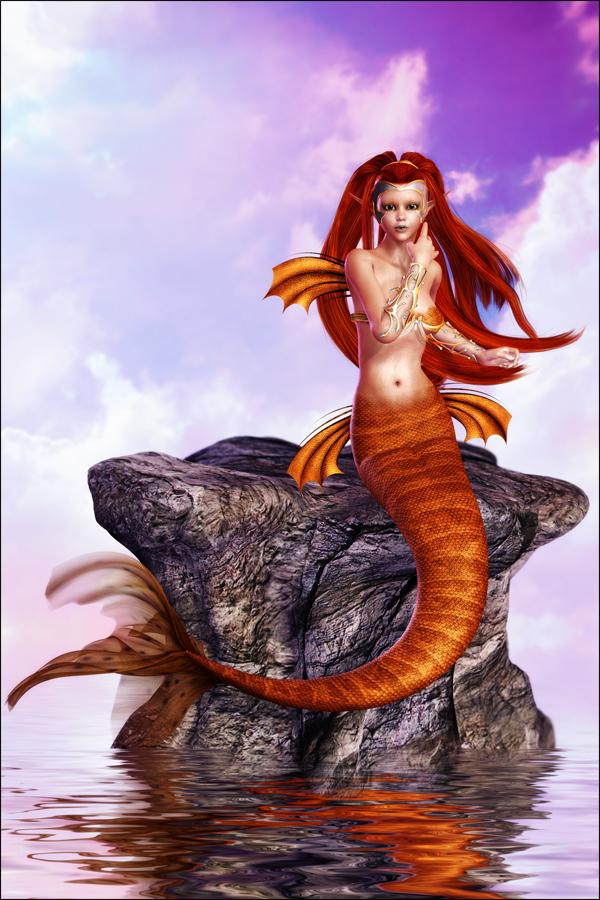 The Mer-Queen's Escape by joannastar