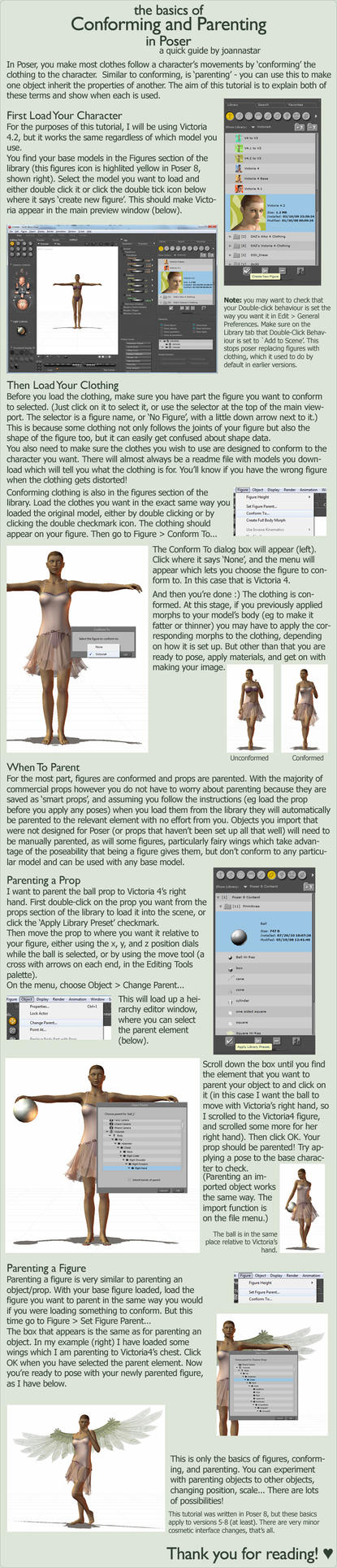 Poser: Conforming + Parenting by joannastar