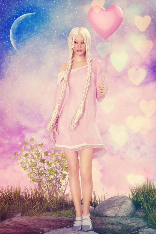my floating heart by joannastar