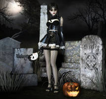 Ember in the Graveyard by joannastar