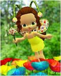 Candy Flower Faery by joannastar