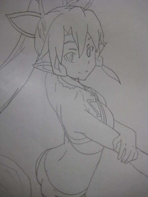 Sword Art Online/Alfheim Online - Leafa by Andrix1995