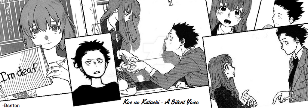 Koe no Katachi (A Silent Voice) banner! by Andrix1995