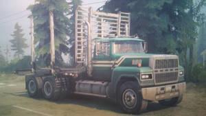 1988 Ford LTL 9000 (Log Carrier)