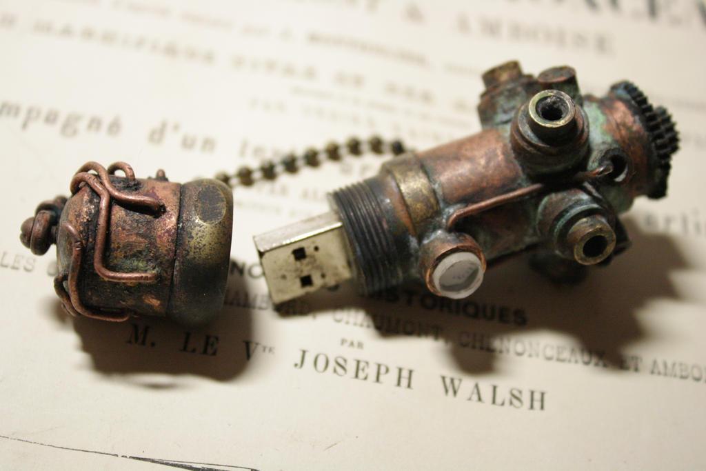USB flash drive 2 by Marseau