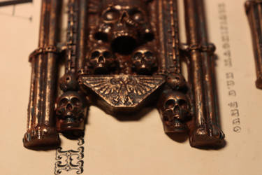Amulet of Ecclesiarchy. Warhammer 40k Details1 by Marseau