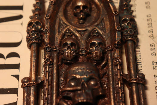 Amulet of Ecclesiarchy. Warhammer 40k  Detail3 by Marseau