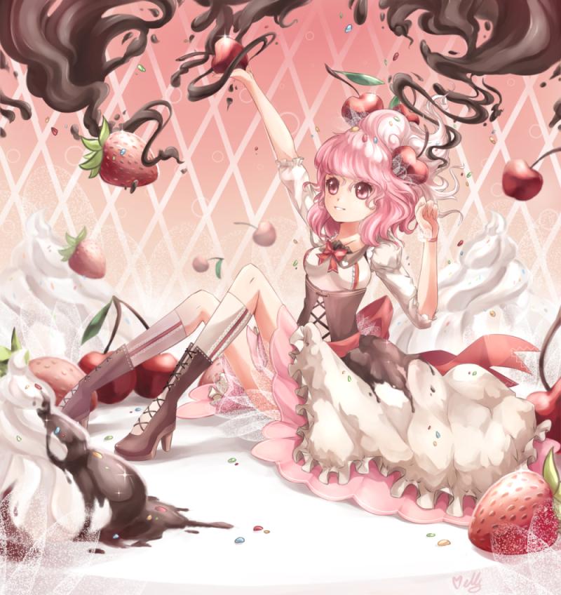 Sweet Dessert by KagamiiX