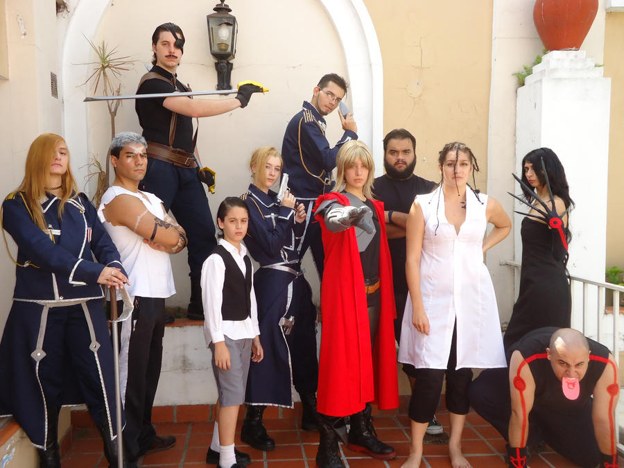 COSPLAY GROUP FMA . 03-04-11 by HaruTears