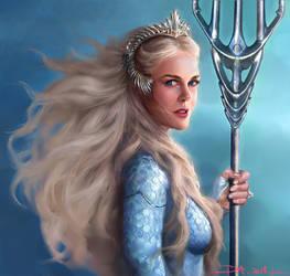 Queen Atlanna-Aquaman Fanart