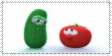 Veggie Tales stamp by CurlyPoCkY