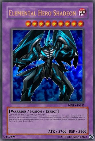 elemental hero shadeon by ananamous on deviantart
