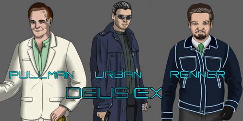 Deus Ex Movie Poster (and fantasy cast)