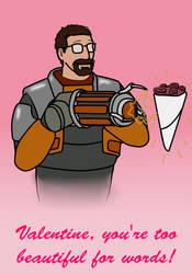 Gordon Freeman valentine