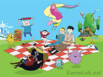 Adventure Time commission by karenluk
