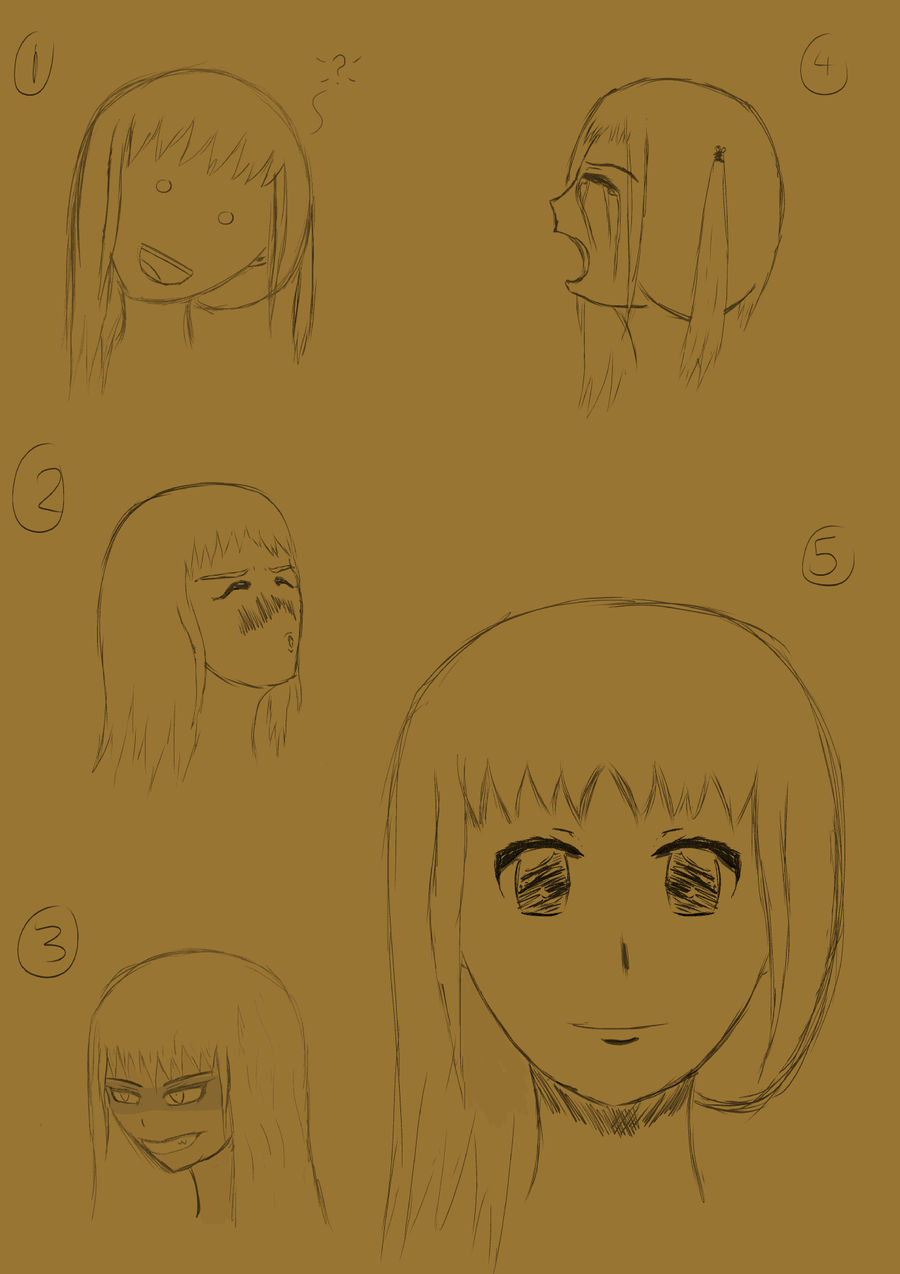 Headshot Sketches of Fate