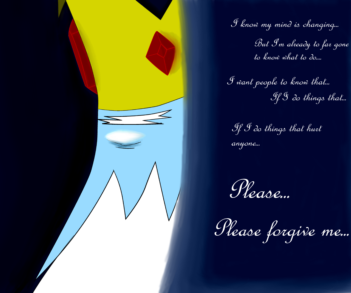 Ice King quote background