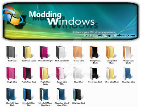 Vista New Color Folders
