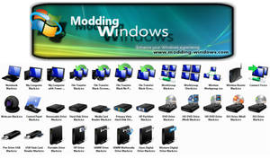 Vista Black Hardware Icons