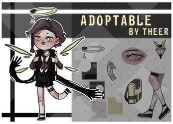 ADOPTABLE by THeeR A01 by MITheeRND
