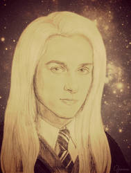 Lucius Malfoy School Photo by wednesday-f-addams