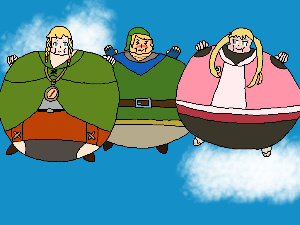A Linkle-Loon and Nagi 2: Electric Bloat-aloo by Manpersonguy